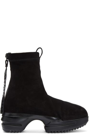 Y-3 - Black Torai Platform Boots