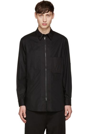 Y-3 - Black Co Zip Shirt