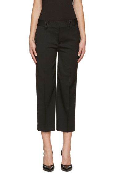 Dsquared2 - Black Wool Mariacarla Trousers