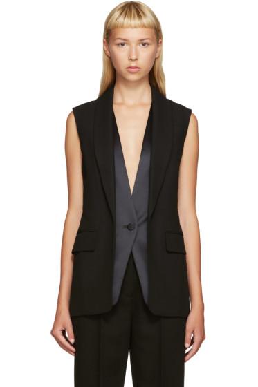 Alexander Wang - Black Layered Vest