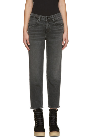 Alexander Wang - Grey Ride Jeans