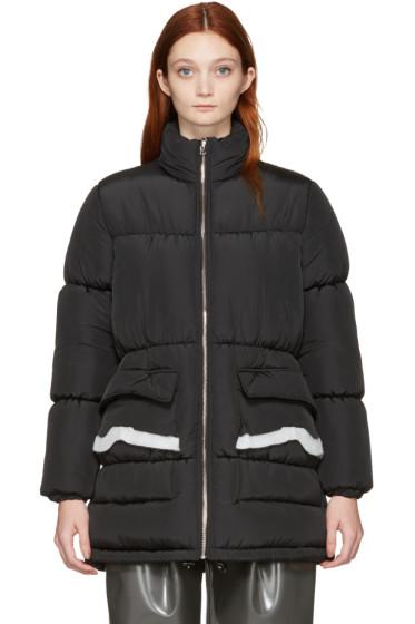 MM6 Maison Margiela - Black Puffer Coat
