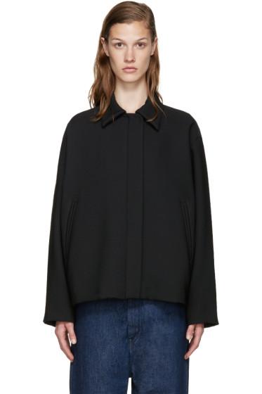 MM6 Maison Margiela - Black Cropped Jacket