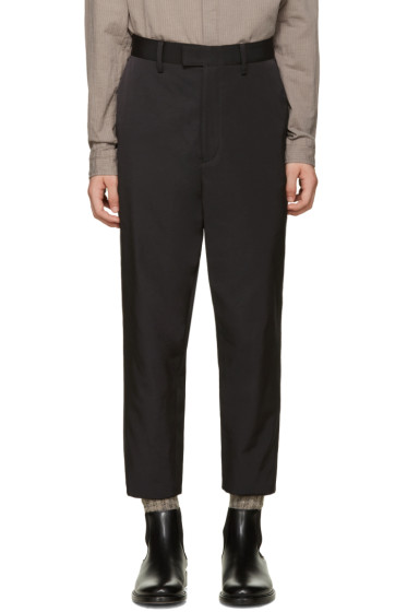 Robert Geller - Black Sean Trousers