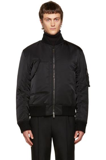 Jil Sander - Black Libourne Bomber Jacket