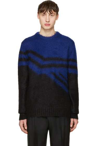 Jil Sander - Blue Mohair Sweater