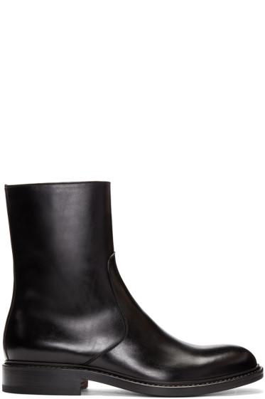 Jil Sander - Black Leather Boots