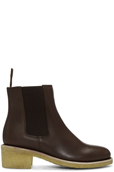 A.P.C. - Brown Maisie Boots