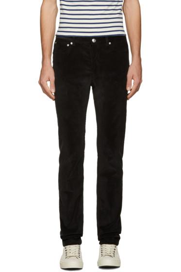 A.P.C. - Black Petit New Standard Trousers
