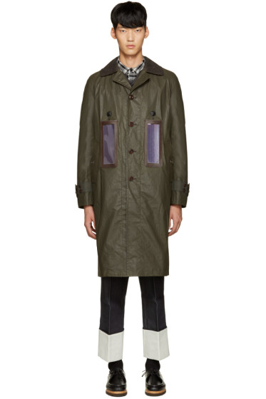 Junya Watanabe - Green Solar-Powered Coat