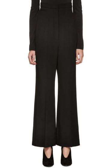 Lanvin - Black High-Rise Trousers
