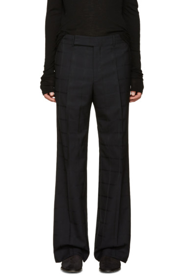 Paul Smith - Black Wool Trousers