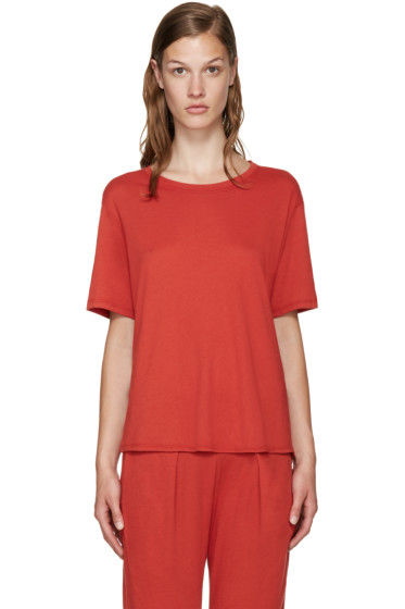 Raquel Allegra - Red Jersey T-Shirt