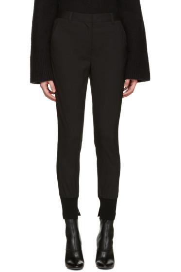 3.1 Phillip Lim - Black Jogger Trousers