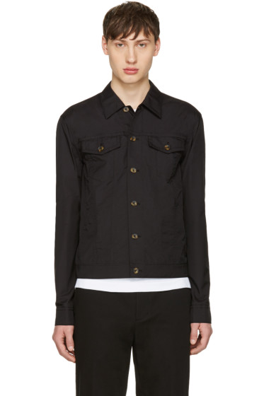 3.1 Phillip Lim - Black Denim Shirt Jacket