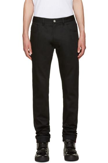 Raf Simons - Black Patch Jeans