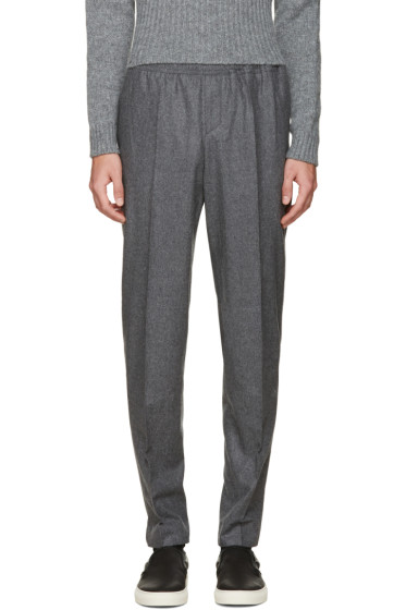 Carven - Grey Wool Trousers