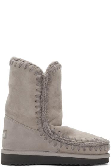 Mou - Taupe Eskimo 24 Boots