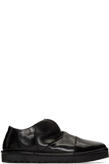 Marsèll - Black Gomma Sancrispa Alta Slip-On Loafers