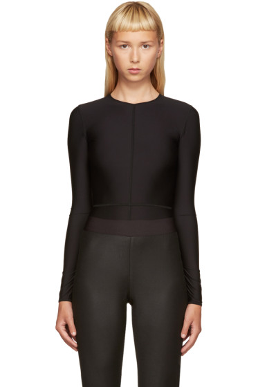 Ann Demeulemeester - Black La Fille D'O Edition Bodysuit