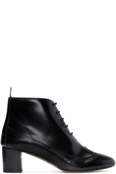 Thom Browne - Black Longwing Boots