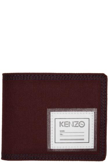 Kenzo - Burgundy ID Wallet
