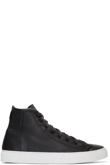 Diemme - Black Veneto Alto High-Top Sneakers