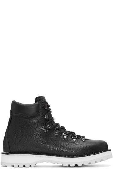 Diemme - Black Pebbled Leather Roccia Boots
