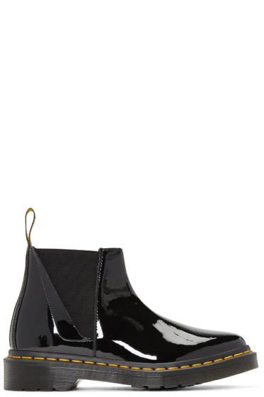Dr. Martens - Black Bianca Chelsea Boots