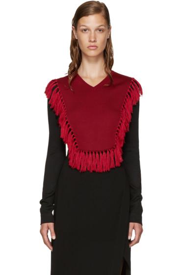 Altuzarra - Black & Red Ming Sweater