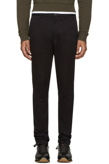 PS by Paul Smith - Black Slim Chinos