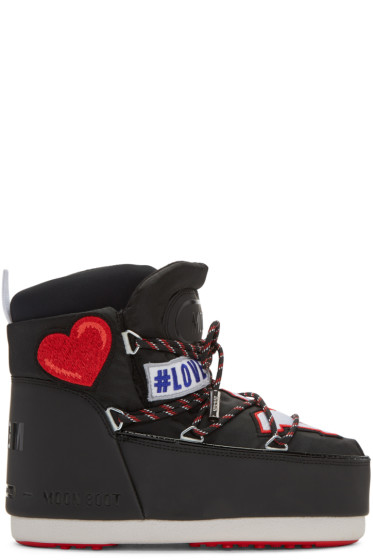 MSGM - Black Moon Boot Edition Boots