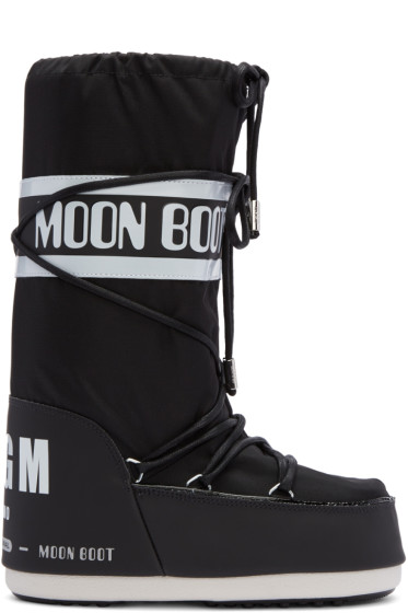 MSGM - Black Moon Boot Edition Tall Boots