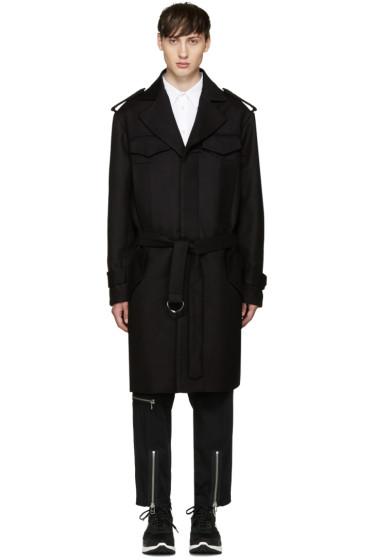 KTZ - Brown Wool Trench Coat