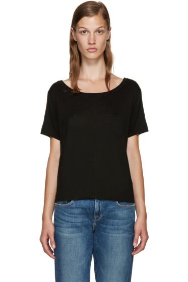 Frame Denim - Black Le Boxy T-Shirt