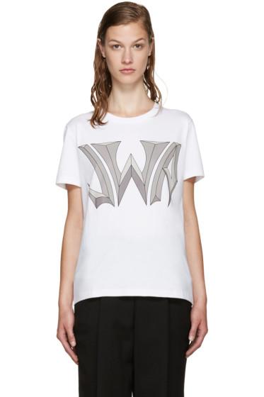 J.W. Anderson - White Logo T-Shirt