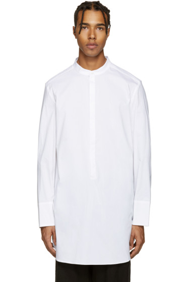 Thamanyah - White Voile Shirt