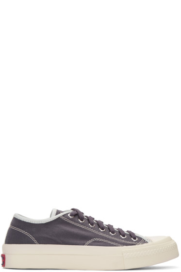 Visvim - Purple Skagway Sneakers