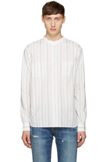 Visvim - Pink Striped Gekko Shirt
