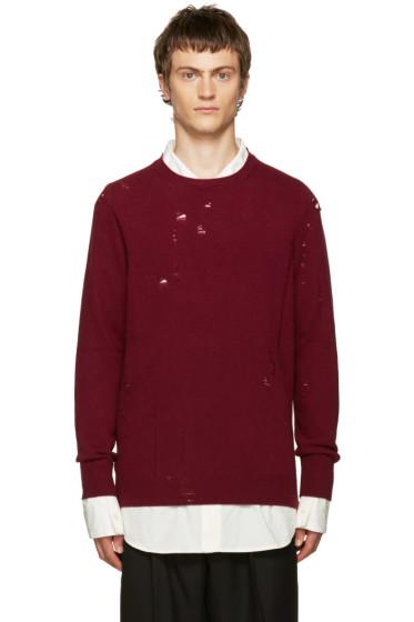 Yang Li - Red Broken Sweater