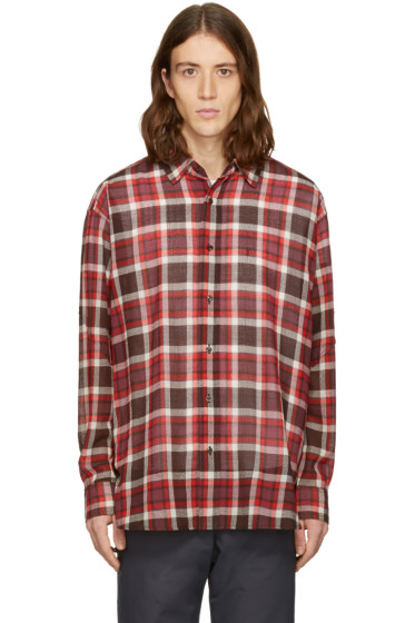 Facetasm - Brown Plaid Shirt