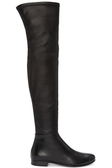 Jimmy Choo - Black Myren Tall Boots