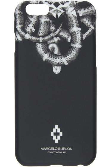 Marcelo Burlon County of Milan - Black Aconcagua iPhone 6 Case