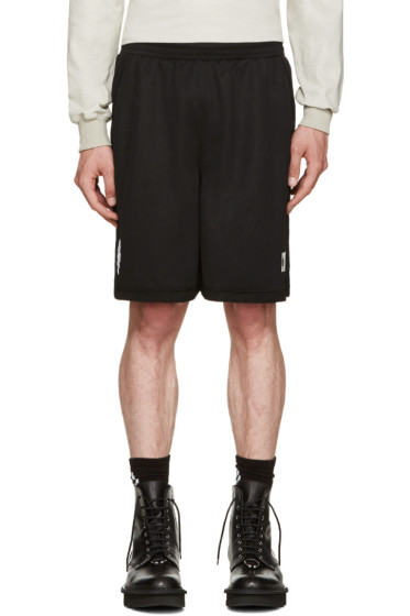 Marcelo Burlon County of Milan - Black Sajama Shorts