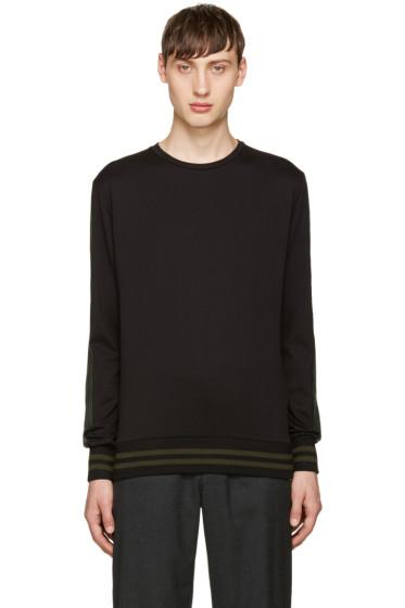 Giuliano Fujiwara - Black Striped Pullover