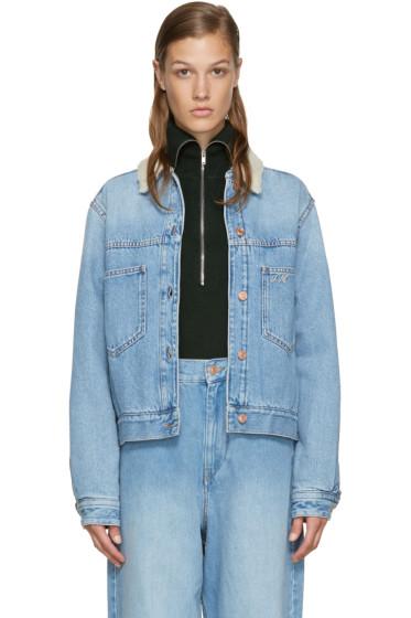 Isabel Marant Etoile - Blue Denim 'Endless' Camden Jacket