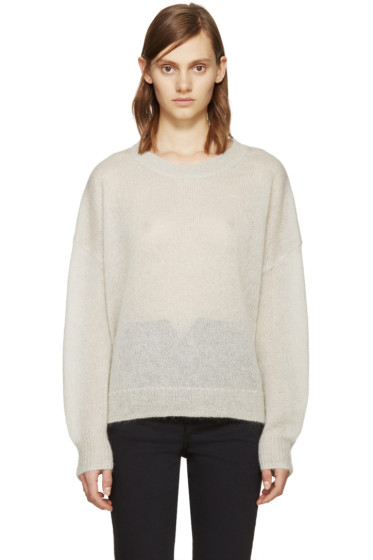 Isabel Marant Etoile - Beige Mohair Clifton Sweater