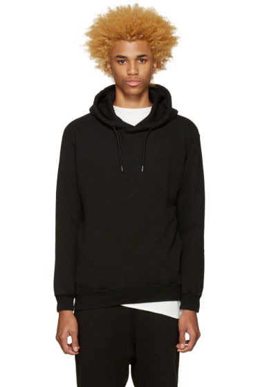 Undecorated Man - Black Zip Hoodie