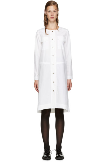Nomia - White Poplin Shirt Dress