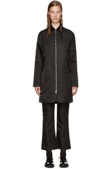 Nomia - Black Oversized Mac Jacket